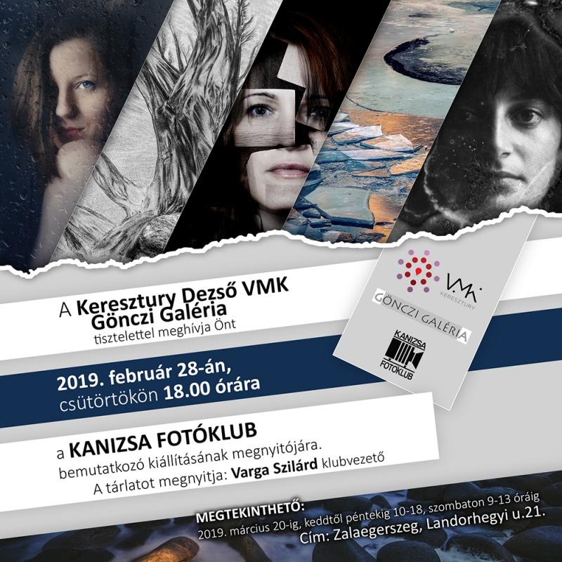 Bemutatkozó kiállítás Zalaegerszegen, webes meghívó