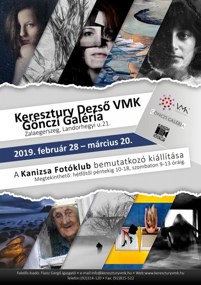 Bemutatkozó kiállítás Zalaegerszegen, plakát