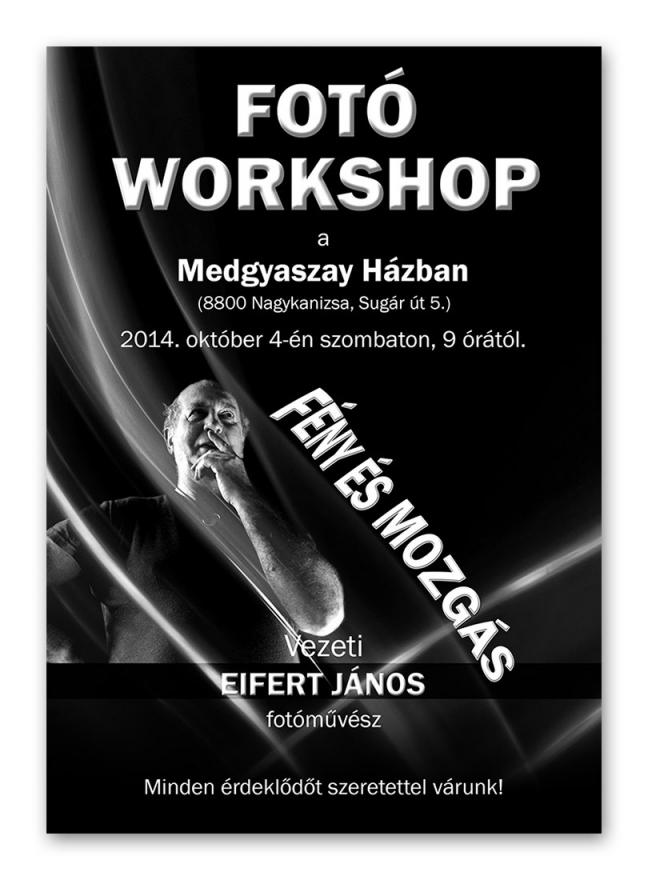 Fotó workshop felhívás