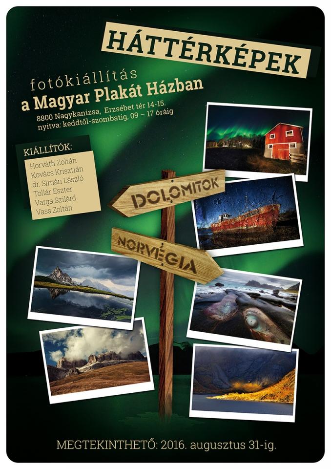 Fotókiállítás plakát